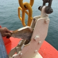 Gravity Lifeboat Hook Release